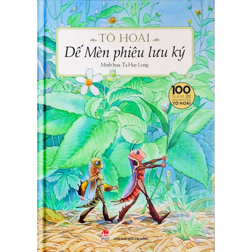 Sách - Dế Mèn Phiêu Lưu Ký (bìa cứng)
