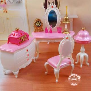 Bàn trang điểm, đồ chơi trong nhà cho búp bê nội thất cho búp bê Barbie,búp bê Xinyi,búp bê Licca thumbnail