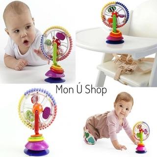 Vòng quay bánh xe Sassy Wonder Wheel   Đồ chơi giáo dục sớm