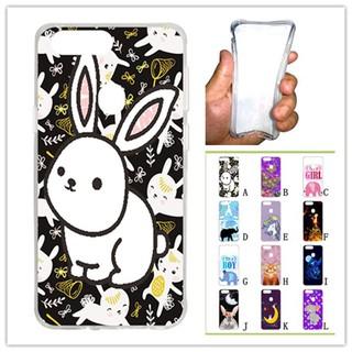 For OPPO R11S White Rabbit Soft Silicon Case