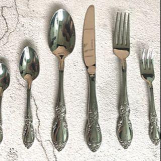 Bộ 6 cái gồm dao muỗng nĩa Inox 18/10 cao cấp Berndorf – FIRENZE – ALL MIRROR – phụ kiện bàn ăn