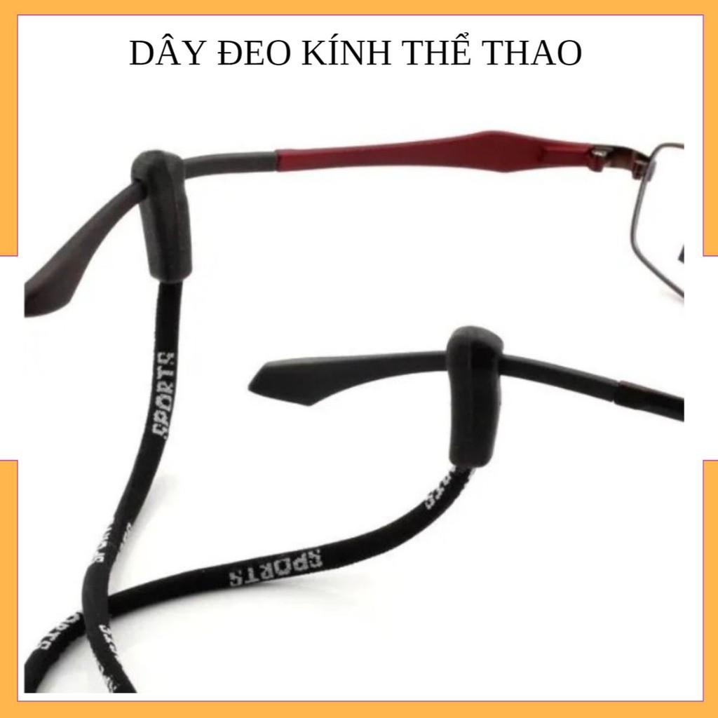 [Mã FAMAYFA giảm 10K đơn 50K] Dây đeo kính thể thao chuyên dụng, hỗ trợ chống rơi kính khi chơi thể thao