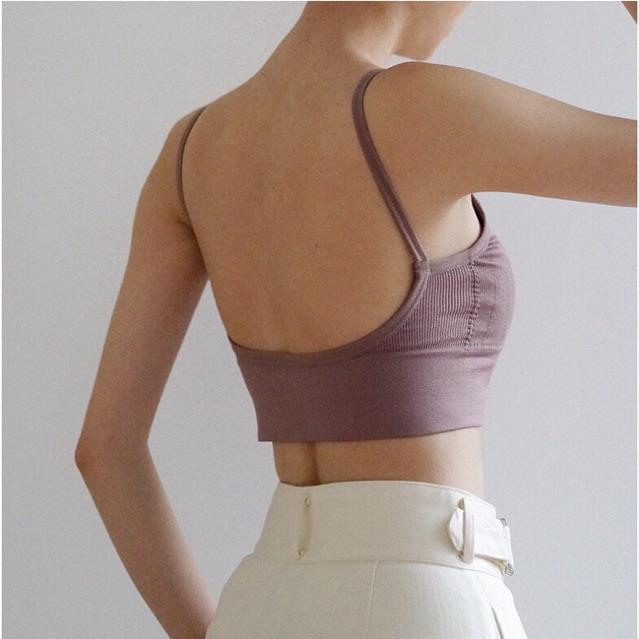 áo bra len tăm hở lưng khoét lưng 367