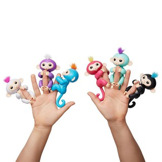 Children Toys Fingerlings Interactive Finger Monkeys Smart Induction Kids Christmas Gifts Toy