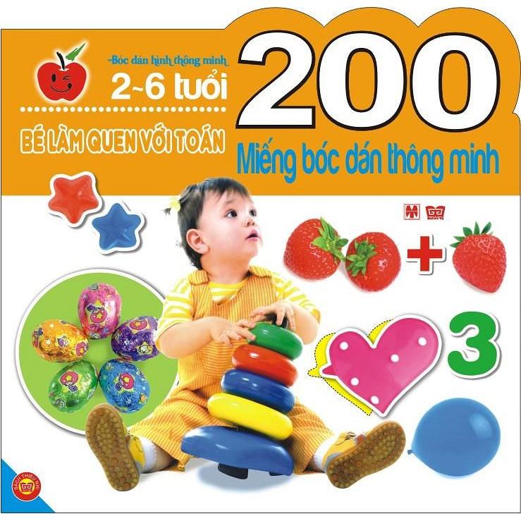 Sách - 200 Miếng Bóc Dán Thông Minh - Bé Làm Quen Với Toán (2-6 Tuổi) - 3493891 , 1219490717 , 322_1219490717 , 55000 , Sach-200-Mieng-Boc-Dan-Thong-Minh-Be-Lam-Quen-Voi-Toan-2-6-Tuoi-322_1219490717 , shopee.vn , Sách - 200 Miếng Bóc Dán Thông Minh - Bé Làm Quen Với Toán (2-6 Tuổi)