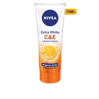 Sữa dưỡng thể dưỡng trắng Nivea C&E vitamin lotion-mini size 70ml-84373