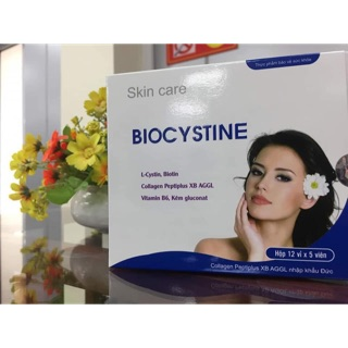 Viên uống biocystin