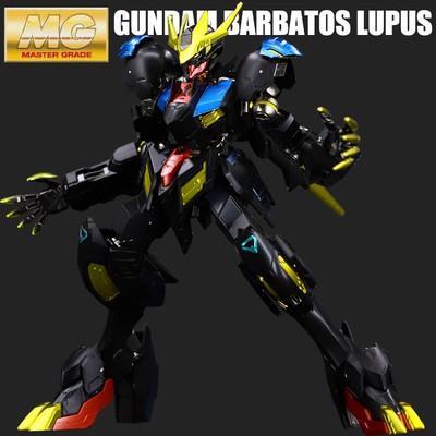 Mô hình Gundam Bandai Metal Coloring MG1 / 100 Barbatos Sephora rex hoàng đế