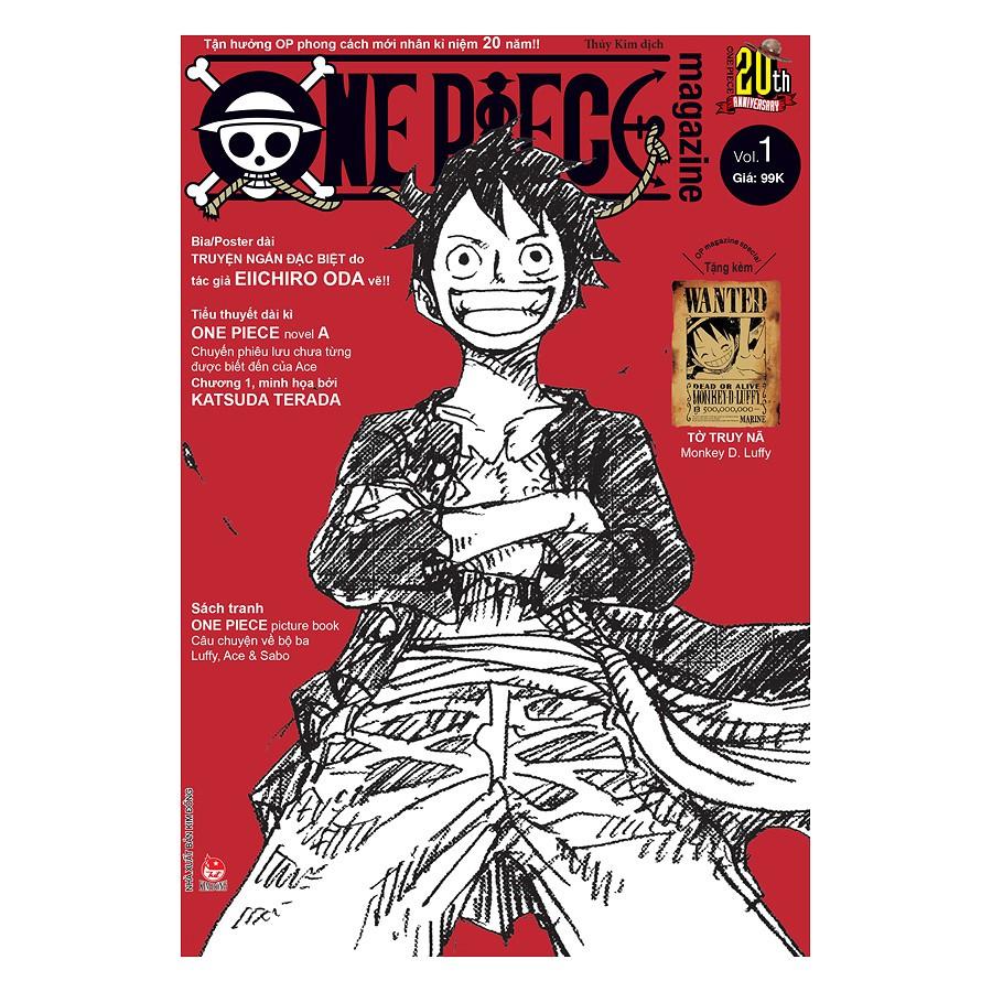 Sách (Tặng Kèm Manga Focus) - Truyện Tranh - One Piece Magazine - Tập 1
