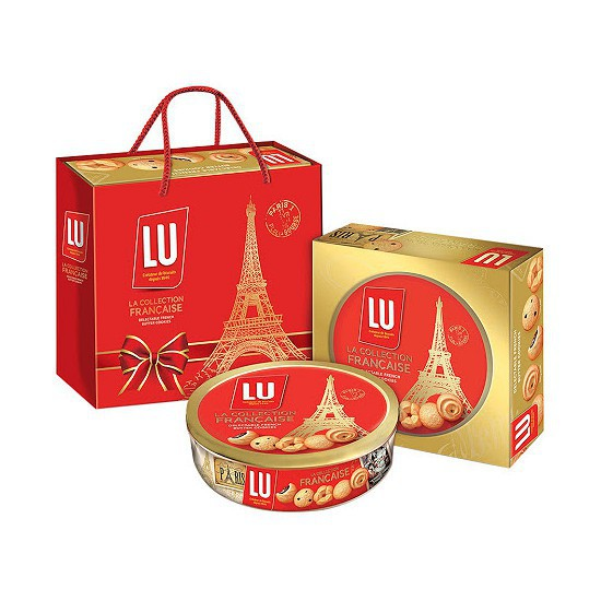 Bánh Cookies thập cẩm Lu 300g