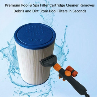 Handheld Swimming Pool Filter Cleaner Brush Swimming Pool Cleaning Tools Spa Pond Tub Accessories