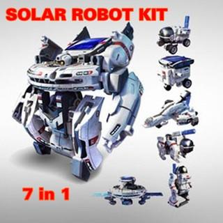 Bộ lắp ráp năng lượng mặt trời Robot không gian 7 in 1