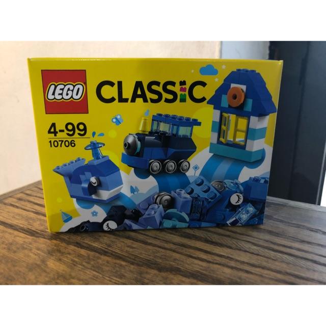 LEGO 10706 Hộp Lắp Ráp Classic Màu Xanh Da Trời