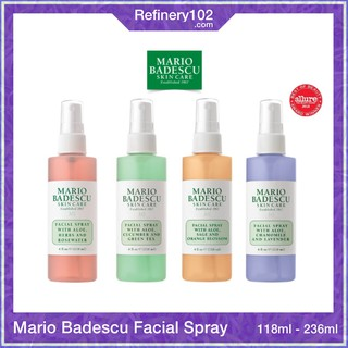 [US] Xịt khoáng Mario Badescu Facial Spray Herbs & Rosewater Green Tea Lavender Orange Blossom thumbnail