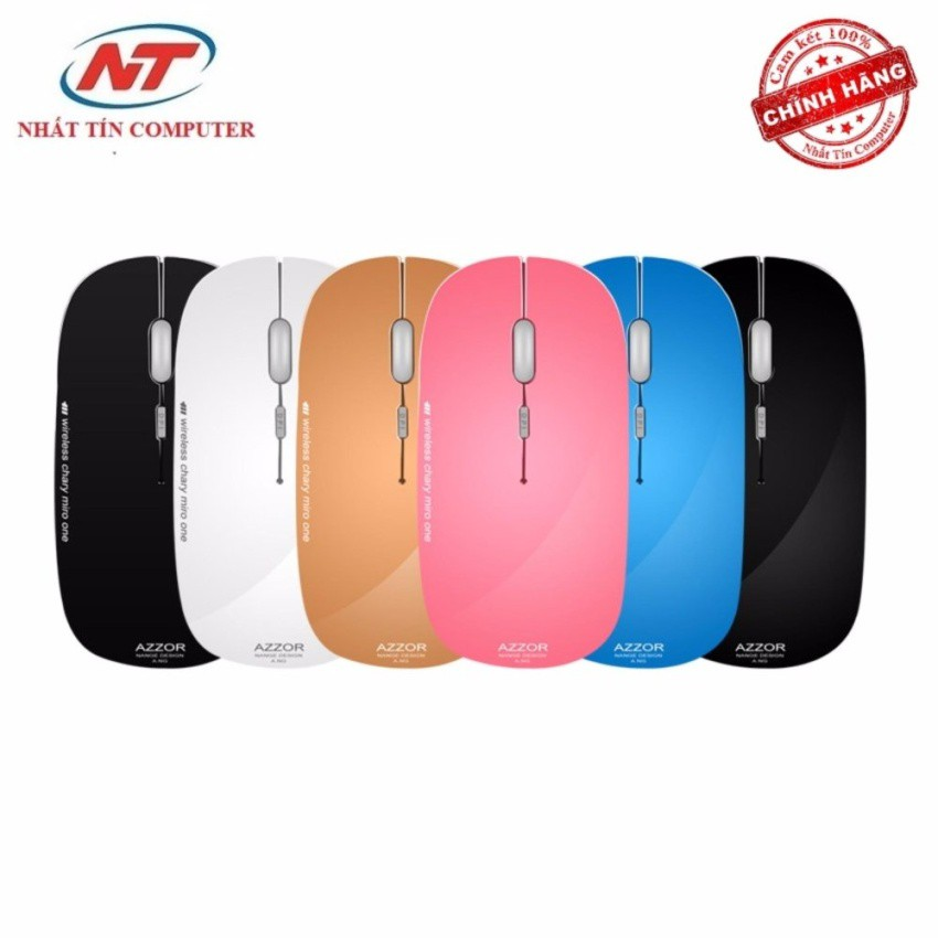 Chuột không dây pin sạc Azzor N5 siêu mỏng - 2507695 , 371845787 , 322_371845787 , 125000 , Chuot-khong-day-pin-sac-Azzor-N5-sieu-mong-322_371845787 , shopee.vn , Chuột không dây pin sạc Azzor N5 siêu mỏng