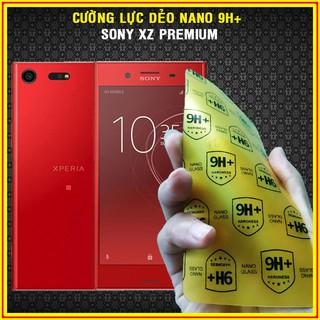 Cường lực dẻo nano 9H+ cho Sony XZ Premium full 98% màn hình,siêu bên,không sứt mẻ viền