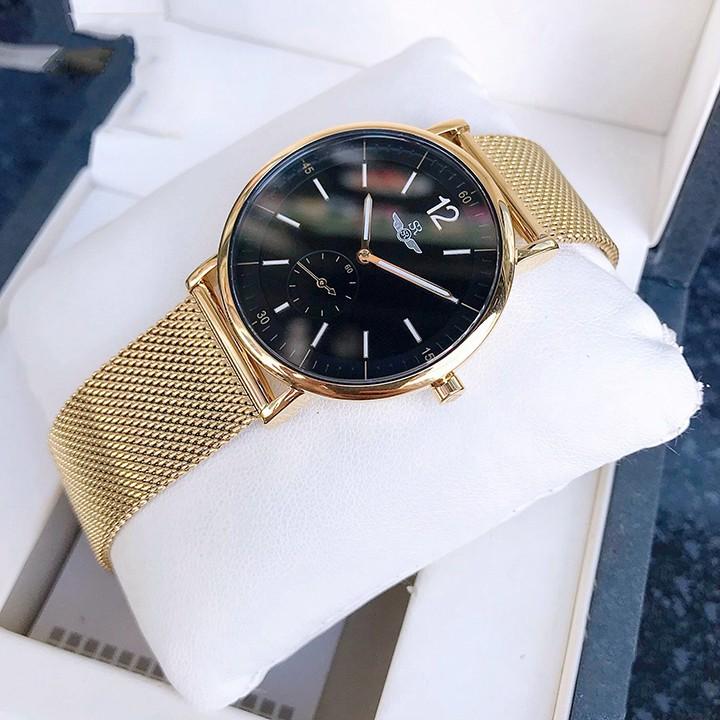 Đồng hồ nam SRWATCH SG2087.1401 mặt kính sapphire Chống trầy Chống nước tuyệt đối, t