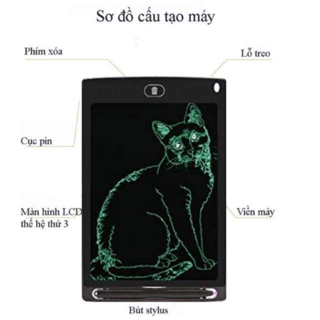 Sỉ Bảng vẽ điện tử tự xóa LCD thông minh cho bé
