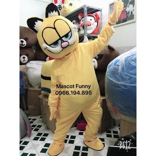 Trang Phục Mascot Mèo Lười
