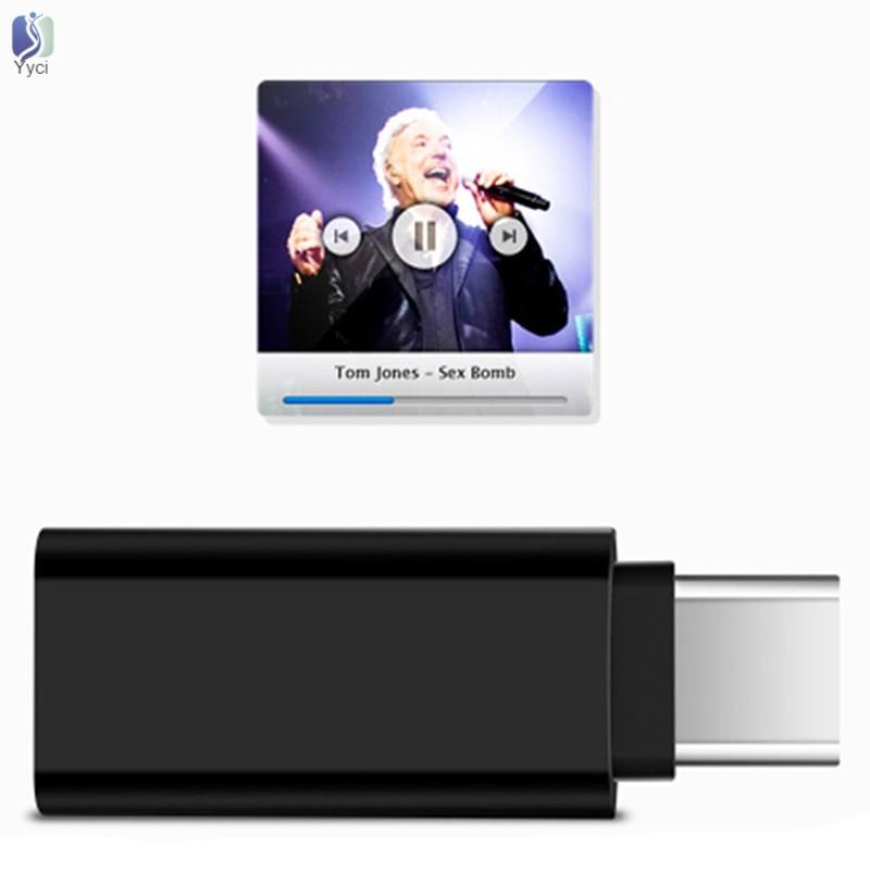 Thiết bị chuyển đổi cổng Type-C sang cổng âm thanh 3.5mm kết nối microphone gắn ngoài cho DJI Osmo Pocket