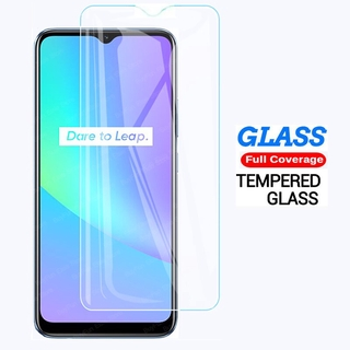 Tempered Glass On For Oppo Realme C25 C21 C15 C12 C11 C3 Screen Protector Glas For Realme Narzo 30A Protective Glass 9H Film