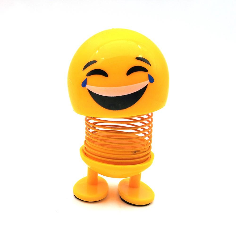 [COMBO GIÁ SỈ] Cục sì lầu mặt cười lò xo loại 1 tặng giá đỡ điện thoại hình thú bất...