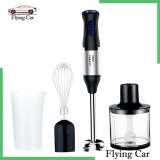 [giá giới hạn] 4 in 1 immersion hand stick blender mixer with chopper whisk attachment kit - hình 2