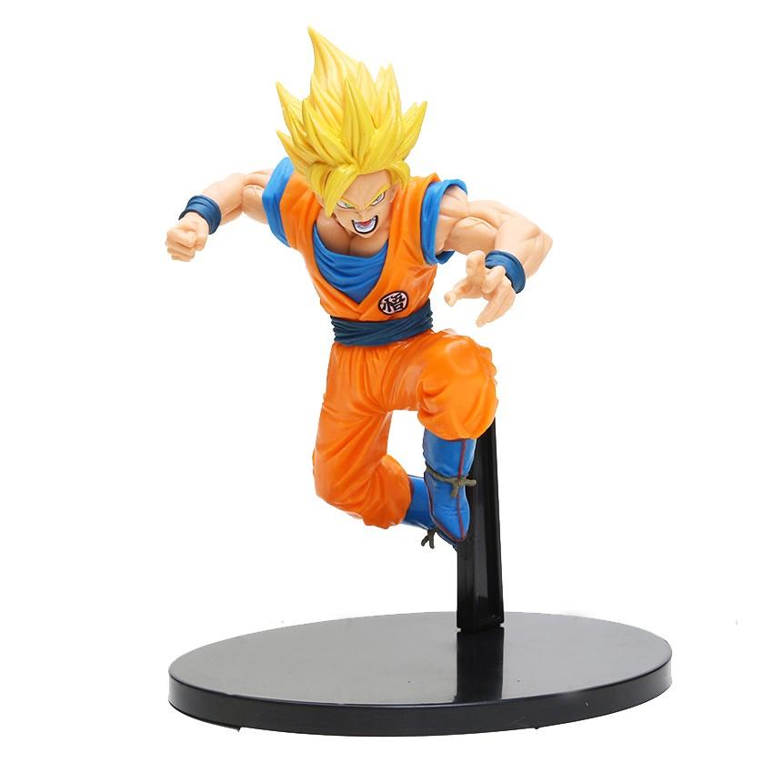 Mô hình nhân vật Figure Banpresto Dragon Ball Z SCultures 6 Super Saiyan 2 Son Gokou