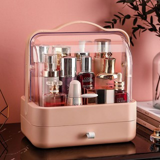 Cosmetic box with built-in drawers A lot of storage capacity outwalk