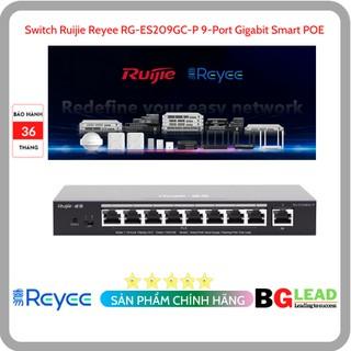Thiết bị mạng Switch Ruijie Reyee RG-ES209GC-P 9-Port Gigabit Smart POE thumbnail