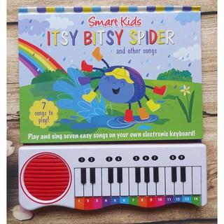 Cuốn sách piano cho trẻ vừa chơi vừa học- SPIDER ITSY BITSY