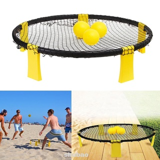 Lawn Fitness Party Supplies With Bag Kids Children Sand Beach Outdoor Playground Volleyballs Kit