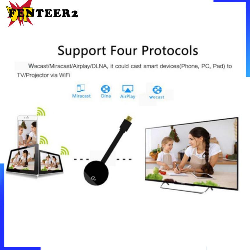 (Fenteer2 3c) Wifi Display Dongle Dongle Adapter Hd