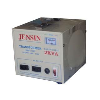 Biến áp, biến thế 2kva, 220v ra 110v, 100v JENSIN.