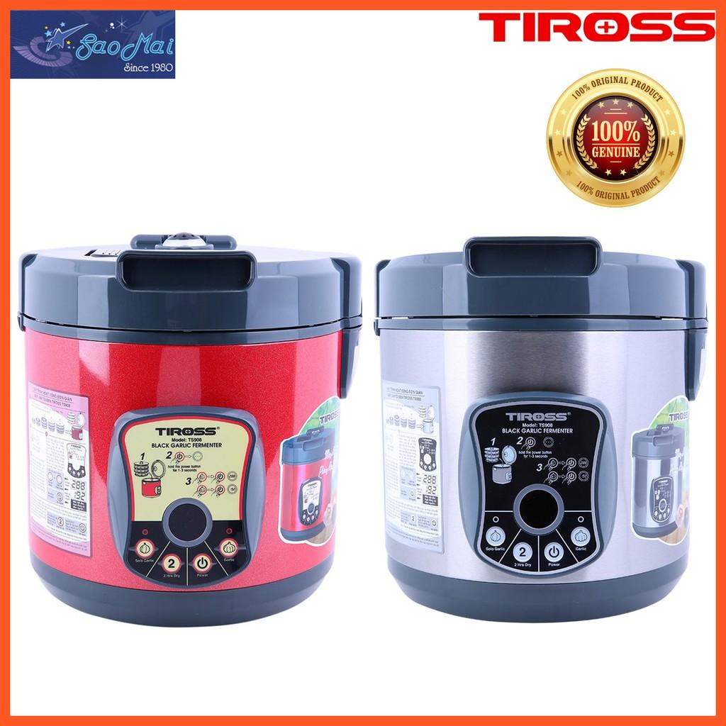 Bảo hành chính hãng - Máy làm tỏi đen gia đình Tiross TS908