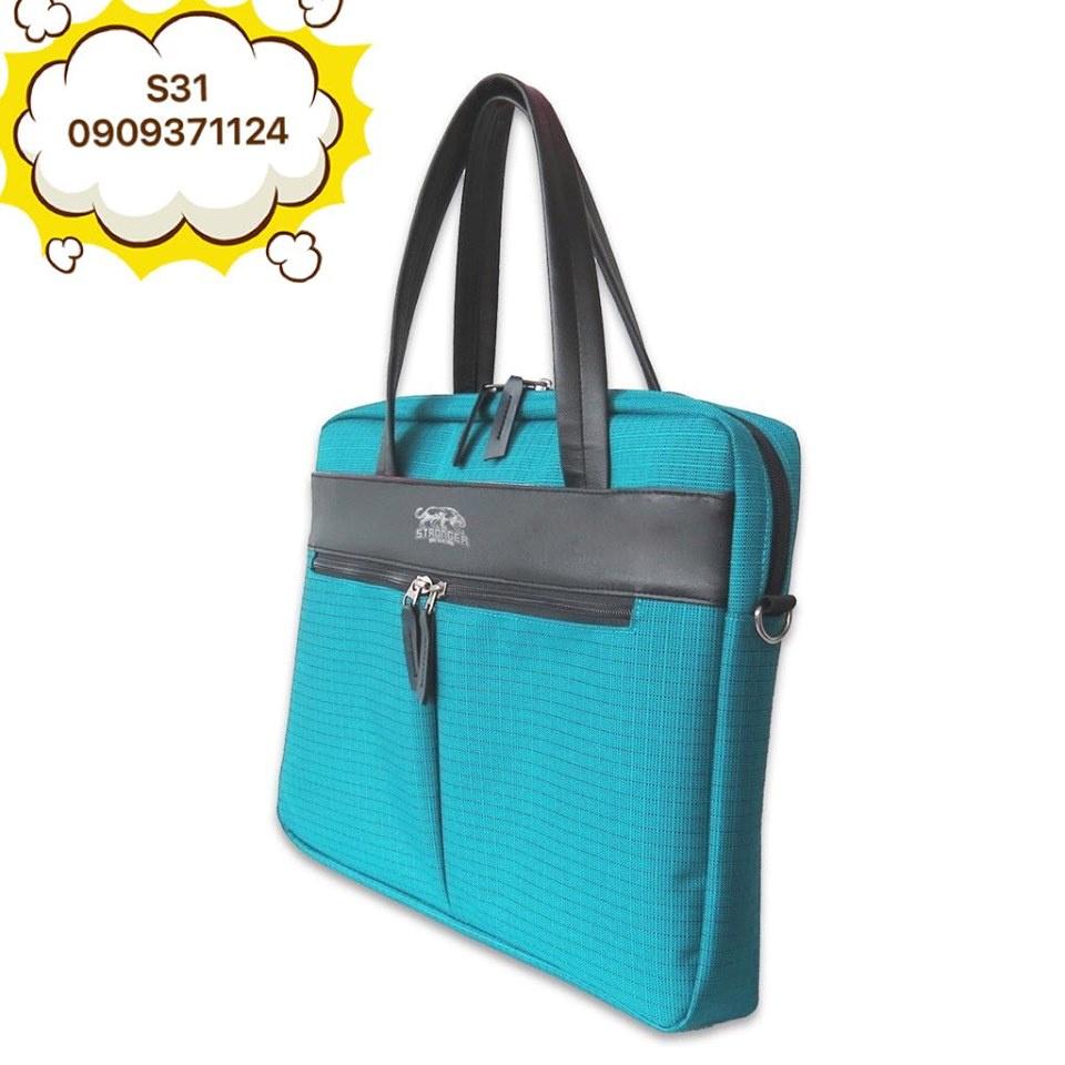 Túi/Cặp hồ sơ văn phòng có ngăn chống sốc đựng laptop cao cấp, chống thấm nước