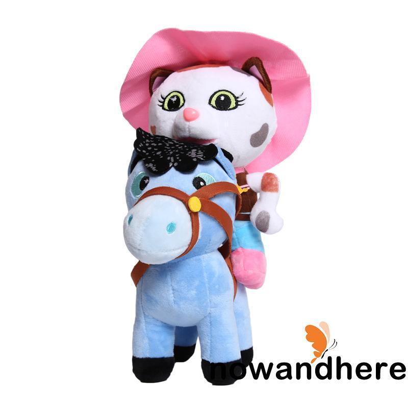 HWR-Sheriff Callie´s Wild West 2pcs Callie + Horse Kids Baby Gift Plush Soft