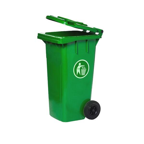 Thùng rác lớn thường được sử dụng ở đâu?