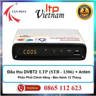 [Mẫu mới] Đầu thu kỹ thuật số DVBT2 LTP Việt Nam (STB 1306) VNPT T201 + Anten Nhôm