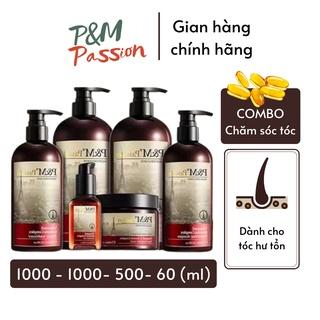 Bộ sản phẩm chăm sóc tóc toàn diện P&M Passion PHÁP NHẬP KHẨU CHÍNH HÃNG thumbnail