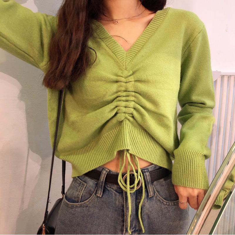 áo len tay dài cổ v thời trang dành cho nữ - 22455587 , 3203811752 , 322_3203811752 , 568500 , ao-len-tay-dai-co-v-thoi-trang-danh-cho-nu-322_3203811752 , shopee.vn , áo len tay dài cổ v thời trang dành cho nữ