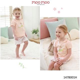 Bộ đồ little heaven, đồ bộ mùa hè cho bé gái, đồ bộ cotton cho bé gái, đồ bộ cotton cho bé xuất Hàn, đồ bộ ngủ cho bé