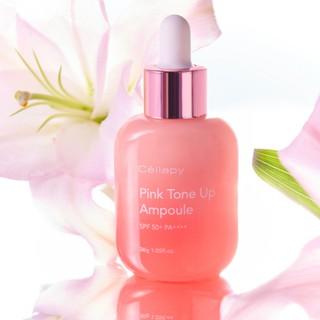 Tinh chất dưỡng da Cellapy Pink Tone Up Ampoule TC SPF 35 PA+++ (30g), Dưỡng trắng căng bóng làn da thumbnail