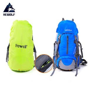 Balo du lịch leo núi dã ngoại chính hãng Hewolf 50 lít HWB1650