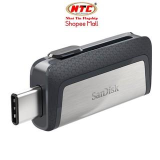 USB Sandisk Ultra Dual OTG Type-C USB 3.1 16GB / 32GB / 64GB / 128GB / 256GB Read 150MB/s (Bạc)
