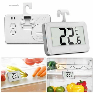 Thermometer 6.8x4.3x1.1cm For Fridge Freezer With A Hanging Hook Durable