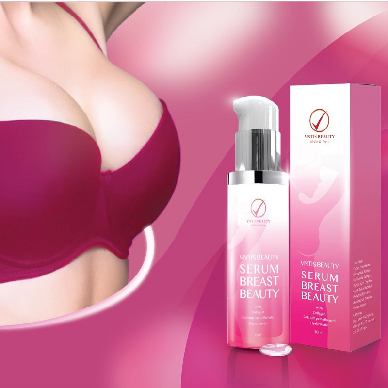 Serum nâng ngực VNTIS Breast Beauty
