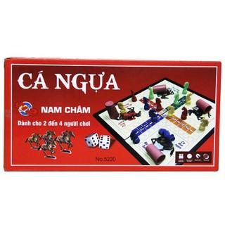 Bộ trò chơi cá ngựa nam châm to (38 x 38 cm) – 5230