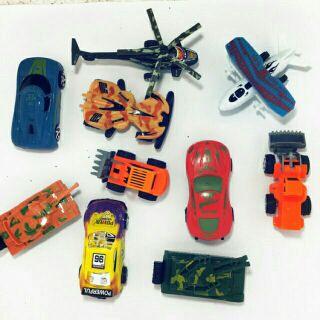 Set 3 xe đồ chơi các loại cho bé