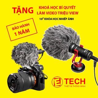 MIC Thu Âm BOYA BY-MM1 Cho Máy Ảnh DSLR, Mirroless, Smartphone